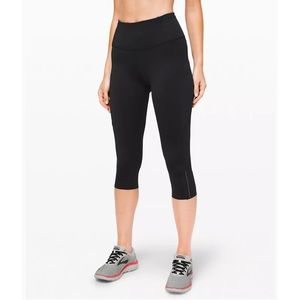 """Lululemon Fast and Free High-Rise Crop 19"""" SZ.8"""